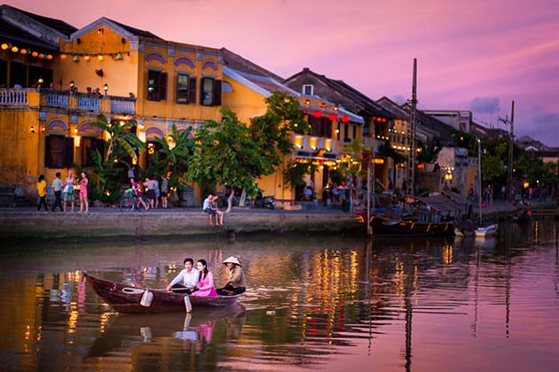 Hoi An in the late afternoon