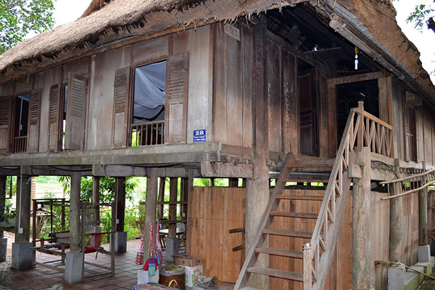 House on stilts of Muong people