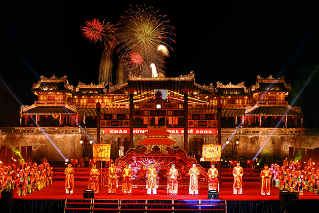 Hue Court Music in the Festival occuring every year at the complex of Hue monuments