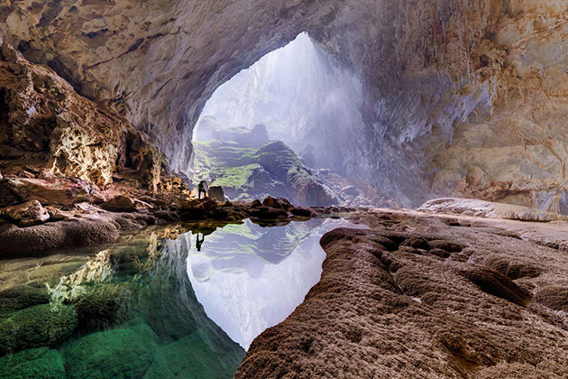 Inside Son Doong Cave - the world's largest cave