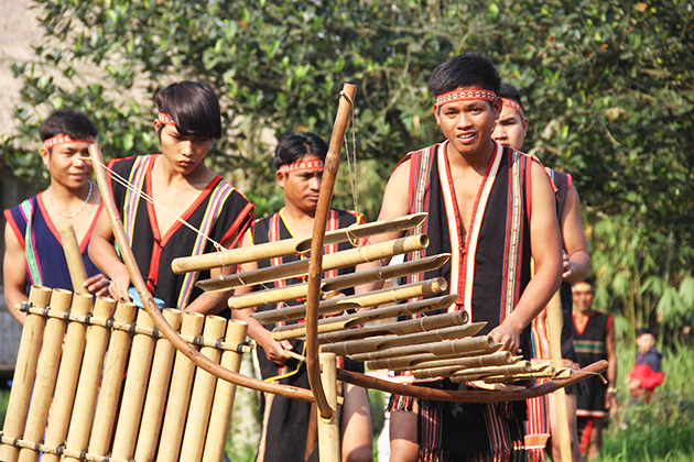 One of the cultural activities of Gia Rai people