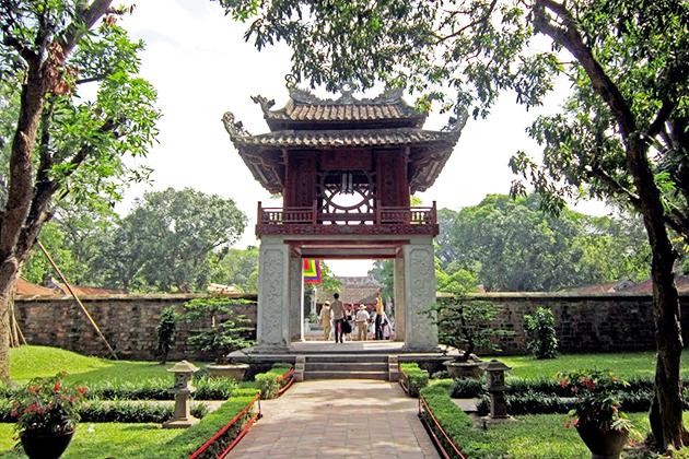 Pavillion of Constellation-one of the symbols of Hanoi