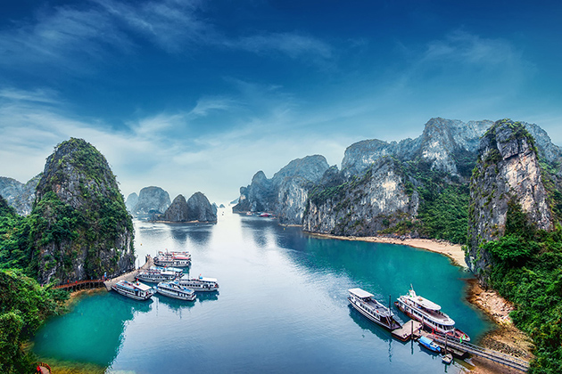 Pristine and mysterious beauty of Vietnam was chosen to film Kong Skull Island