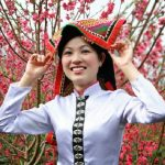 Thai woman in the spring