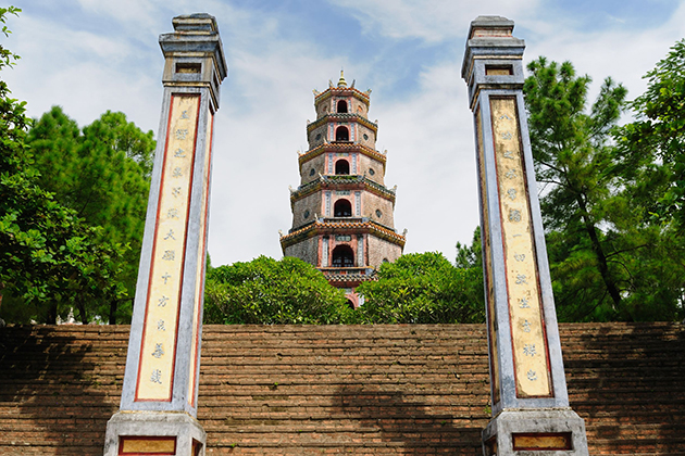 Thien Mu Pagoda in the complex of Hue monuments