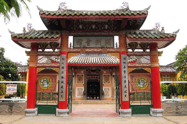 Trieu Chau Assembly hall in Hoi An