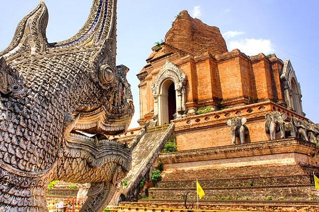 Wat Chedi Luang thailand cambodia vietnam tour in 3-weeks