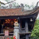 a closer look at one pillar pagoda in hanoi