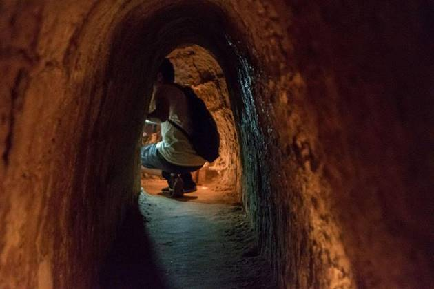 cu chi tunnel 3 in saigon week thailand cambodia vietnam hoilday package