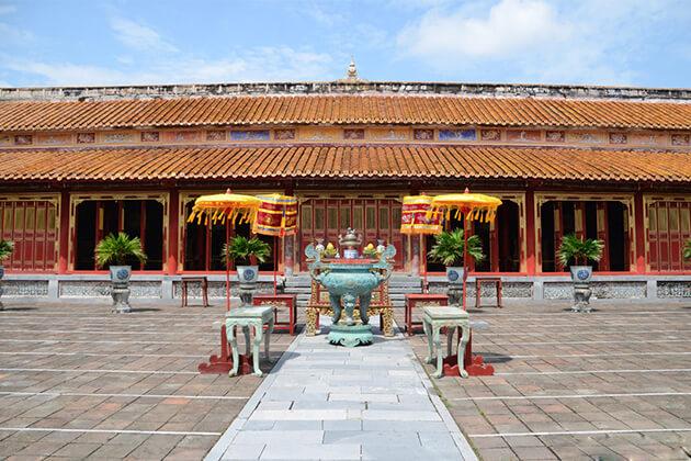 history of Hue citadel