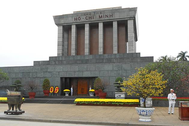 ho chi minh mausoleum in hanoi thailand vietnam and cambodia tours
