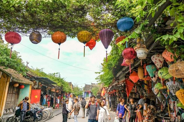 hoi an ancient town in central vietnam