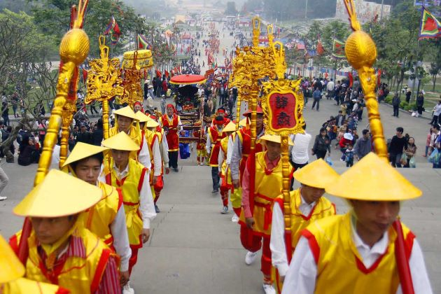 hung king festival the culture of the kinh people