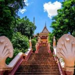 the wat phnom in phnom penh cambodia