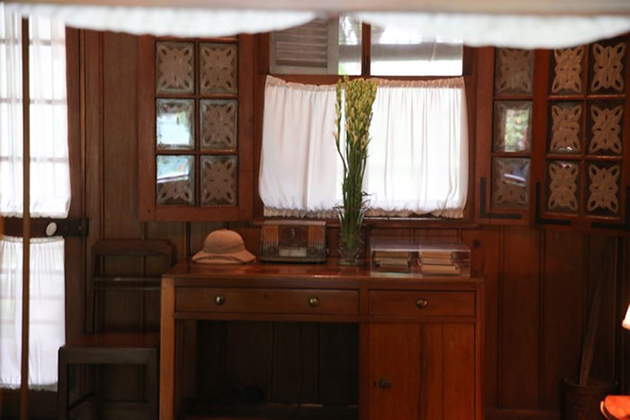 working place of President Ho Chi Minh in his stilt house