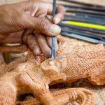 Angkor carving in Le Artisan D'Angkor