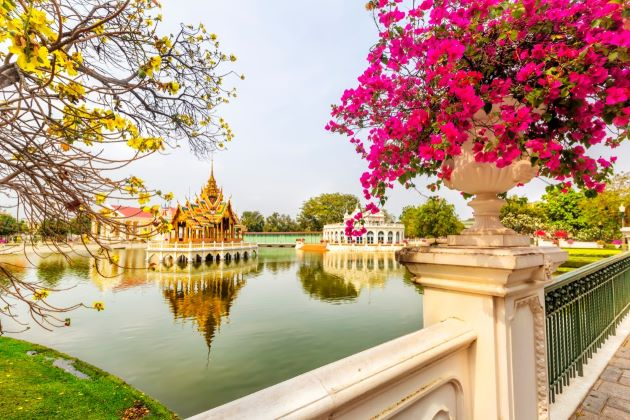 Bang Pa In Summer Palace in thailand