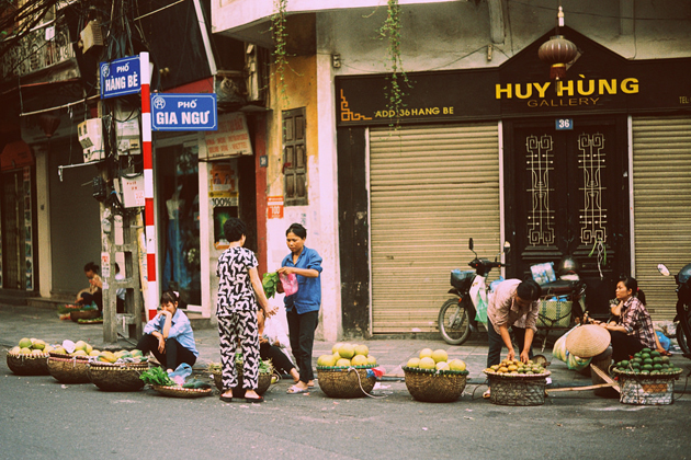 Hang Be Street Hanoi Old Quarter