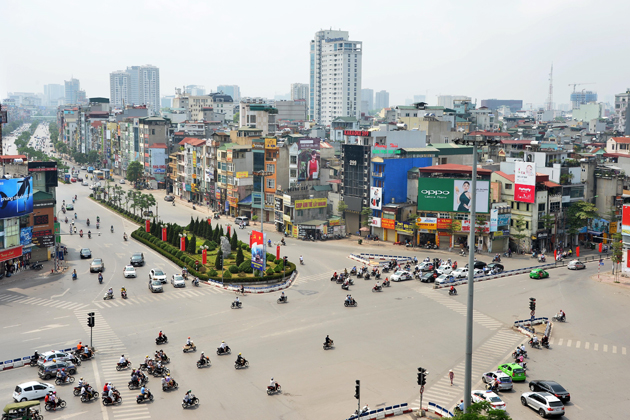 Hanoi in International Labor Day