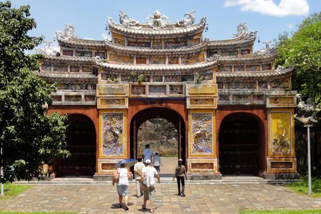 Hien Lam Pavilion Gate, Hue Imperial Enclosure