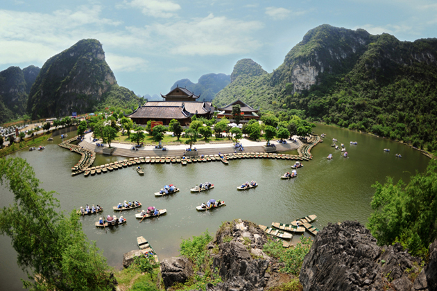 Panorama of Trang An Landscape Complex