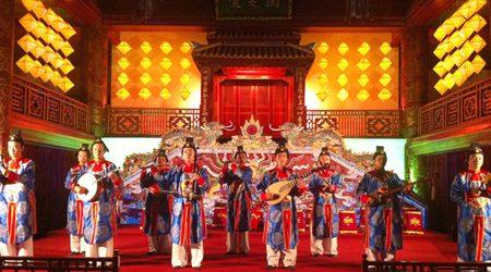 Performance of Nha Nhac - Vietnamese Court Music in Hue