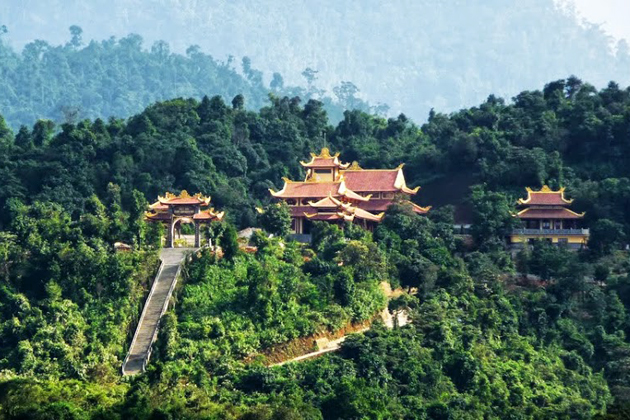 Truc Lam Zen Monastery in Bach Ma National Park