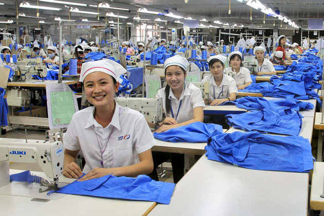 Vietnamese People in Labor anh Production