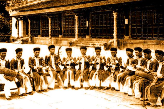 vietnamese court music nha nhac in nguyen dynasty