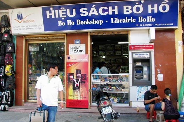 Bo Ho Bookshop in Hanoi