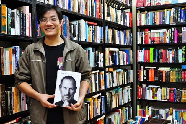 Bookworm in Hanoi