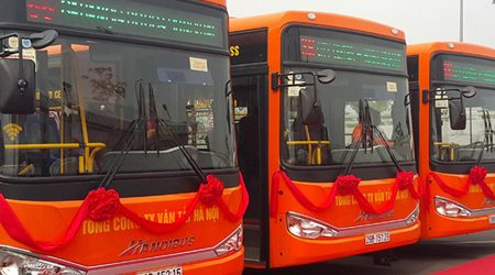 Bus system in Vietnam