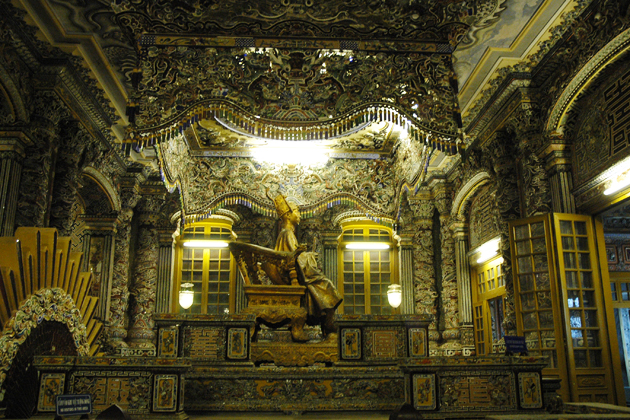 Emperor tomb of Khai Dinh