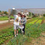 Farming eco tour in Tra Que Village