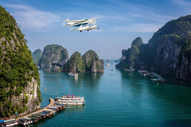 Halong Bay Seaplane Discovery