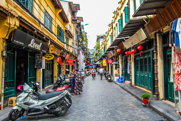 Free to discover the Old Quarter of Hanoi