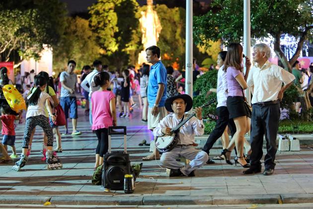 Ho Guom walk street