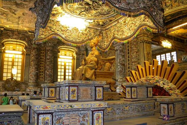 Imperial tomb of King Khai DInh