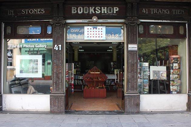 Infostones Bookshop in Hanoi