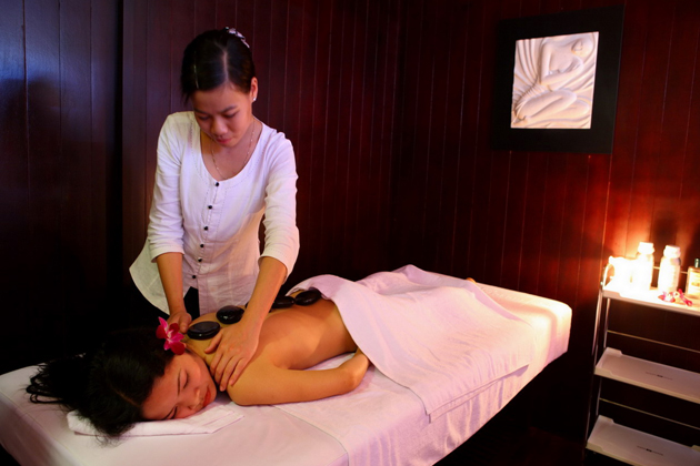Massage and spa services in Emperor Cruise