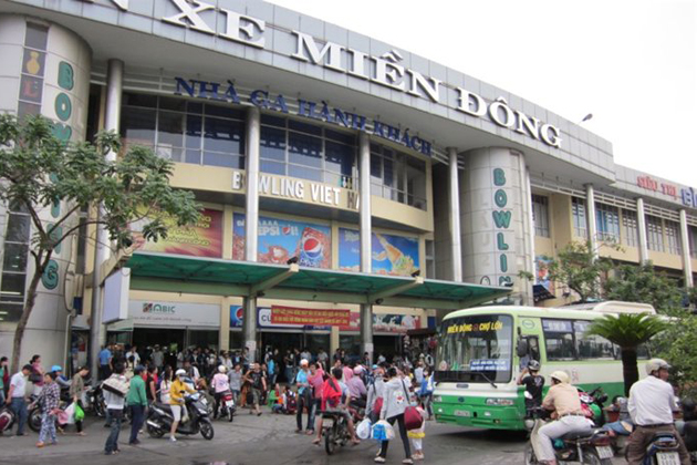 Mien Dong Bus Station