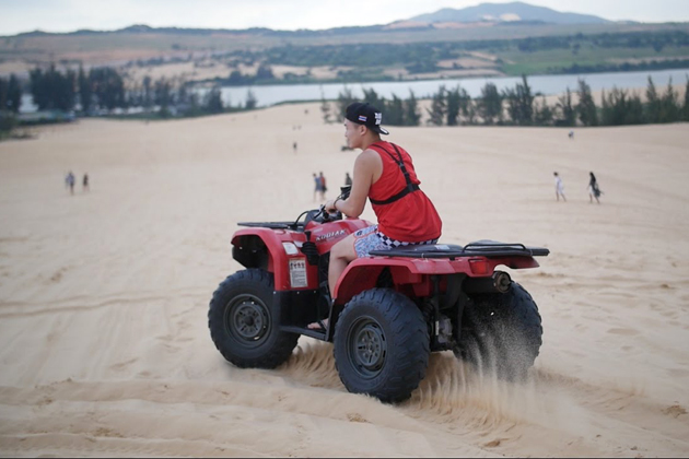Quad biking in Mui Ne is one of the most interesting destinations in Vietnam