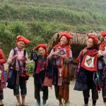 Red Zdao ethnic group in Sapa