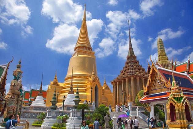 The Emerald Buddha Temple - Wat Phra Kaew