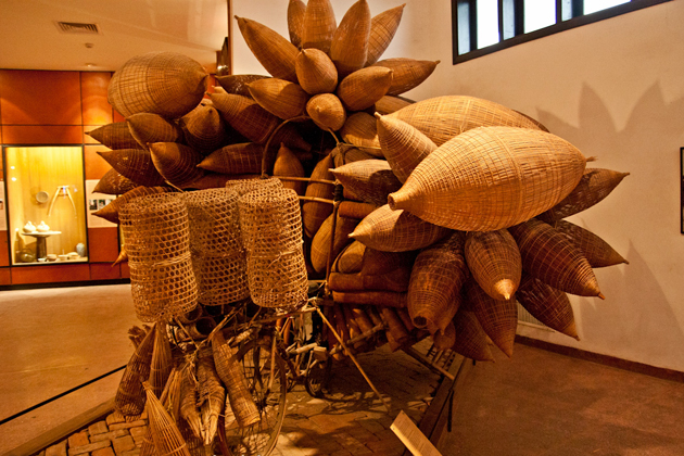 Farming items of northern ethic, Vietnam Museum of Ethnology