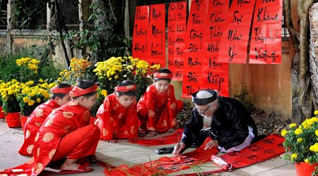 Vietnamese Lunar New Year Tet Holiday