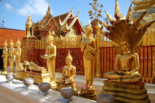 Wat Phra That Doi Suthep - Chiang Mai Thailand