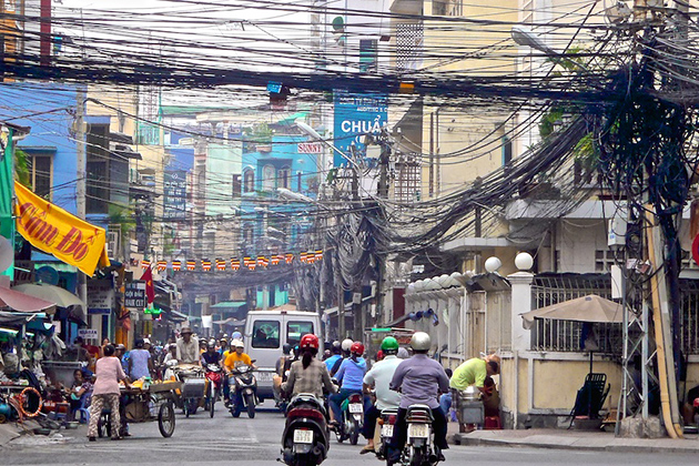 chaos electric line system vietnam facts