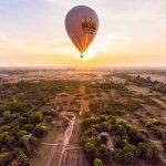 experience angkor wat hot air balloon on cambodia vietnam laos trip