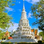 the well-known silver pagoda in phnom penh